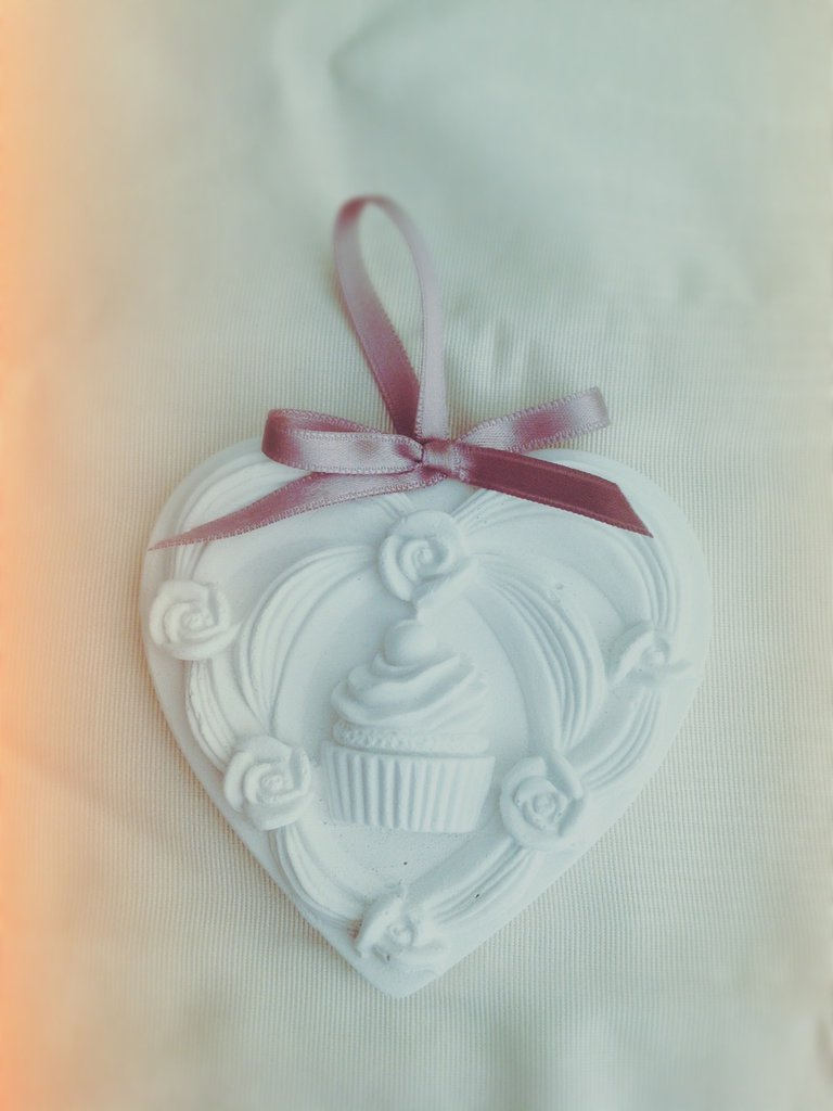 """Gessetto """" cuore cup cake """""""