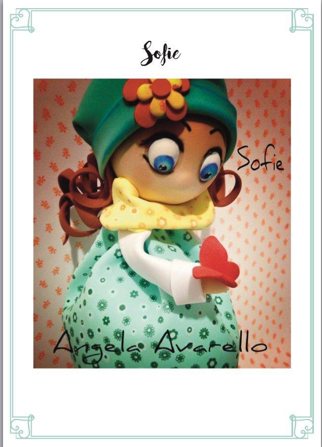 Tutorial, cartamodelli, spiegazioni, bambolina Sofie in gomma crepla