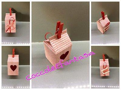 milk box porta confetti