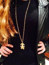 Collana bambina color oro