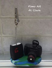 Macchina Fotografica professionale in Fimo