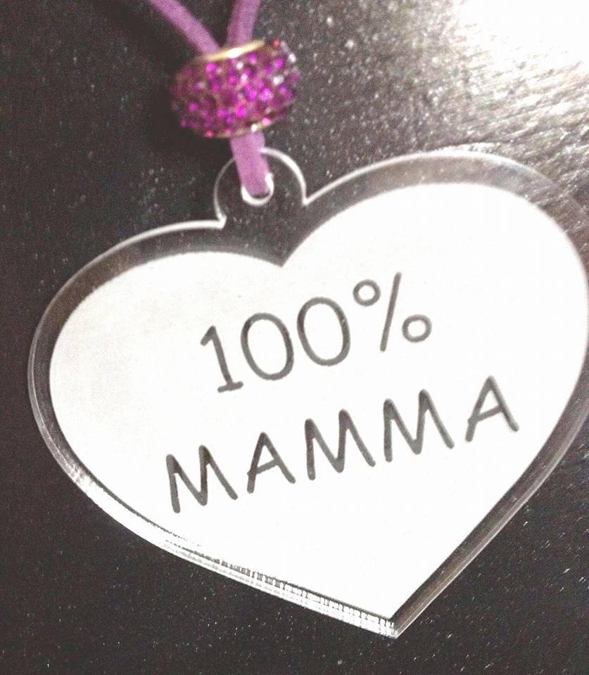 Collana '100% Mamma!'
