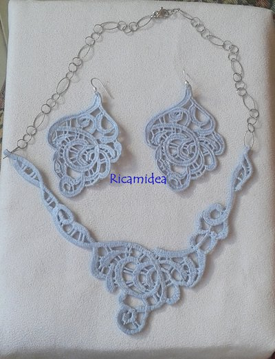"""Set collana e orecchini """"Romantica"""""""