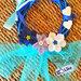 Ghirlanda nascita bimba o bimbo rosa azzurro fiocco nascita coccarda fuoriporta