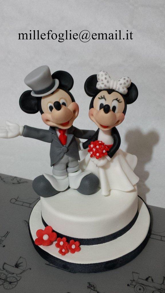 Cake Topper SPOSI in Porcellana Fredda(anche Pasta di Zucchero su richie...