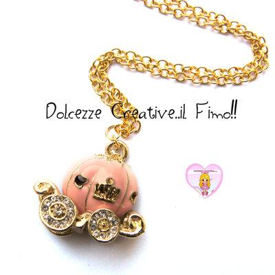 Collana Carrozza - Collezione Favole - Idea regalo