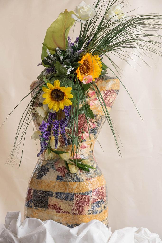 Manichino - Busto Decorato - La primavera
