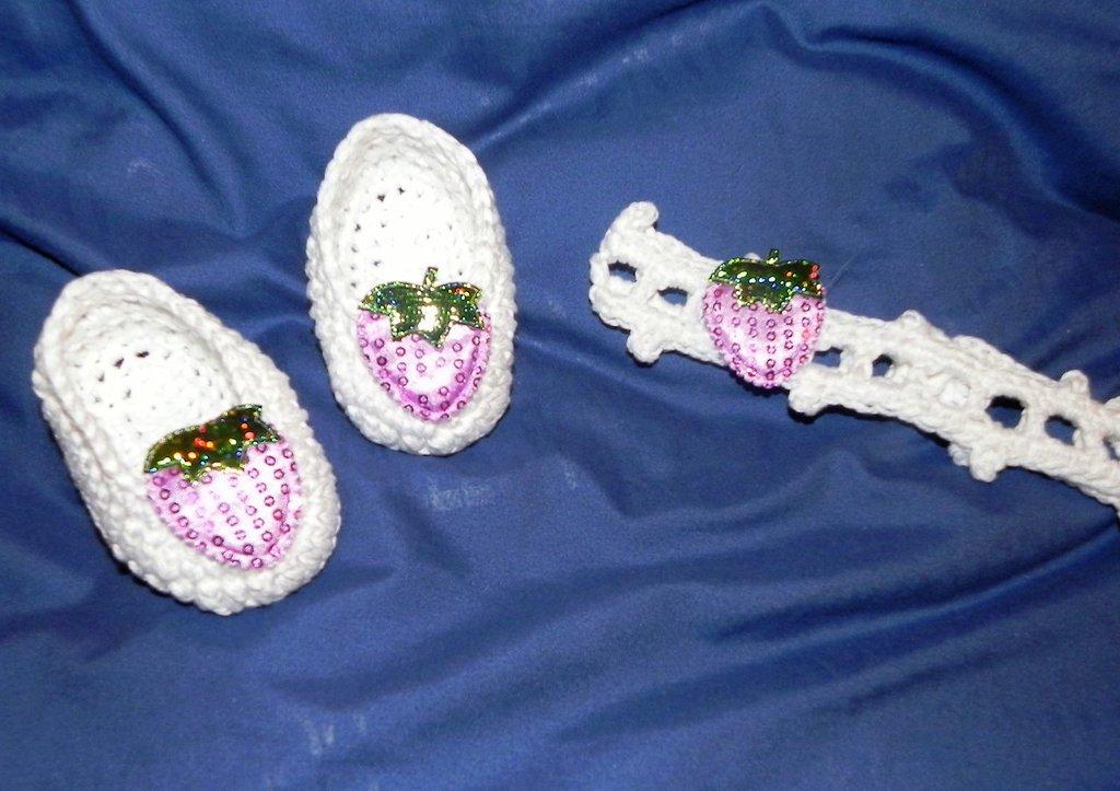 Fascetta e ballerine scarpette bambina