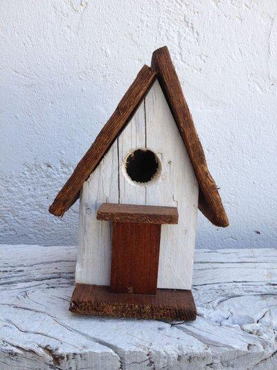 casetta per uccelli in legno - GIGLIO-