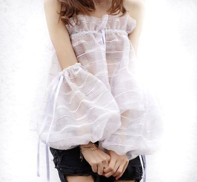 Organza Couture Top