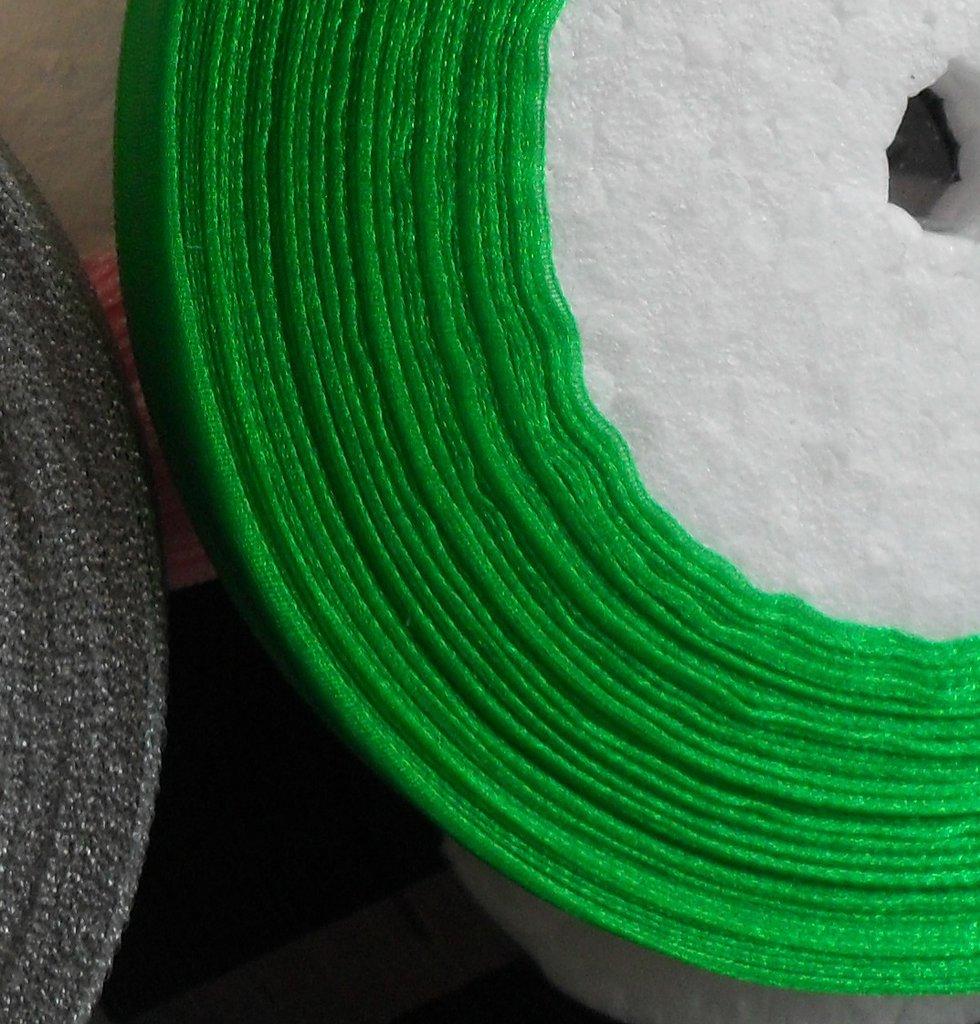 organza verde 1 mt
