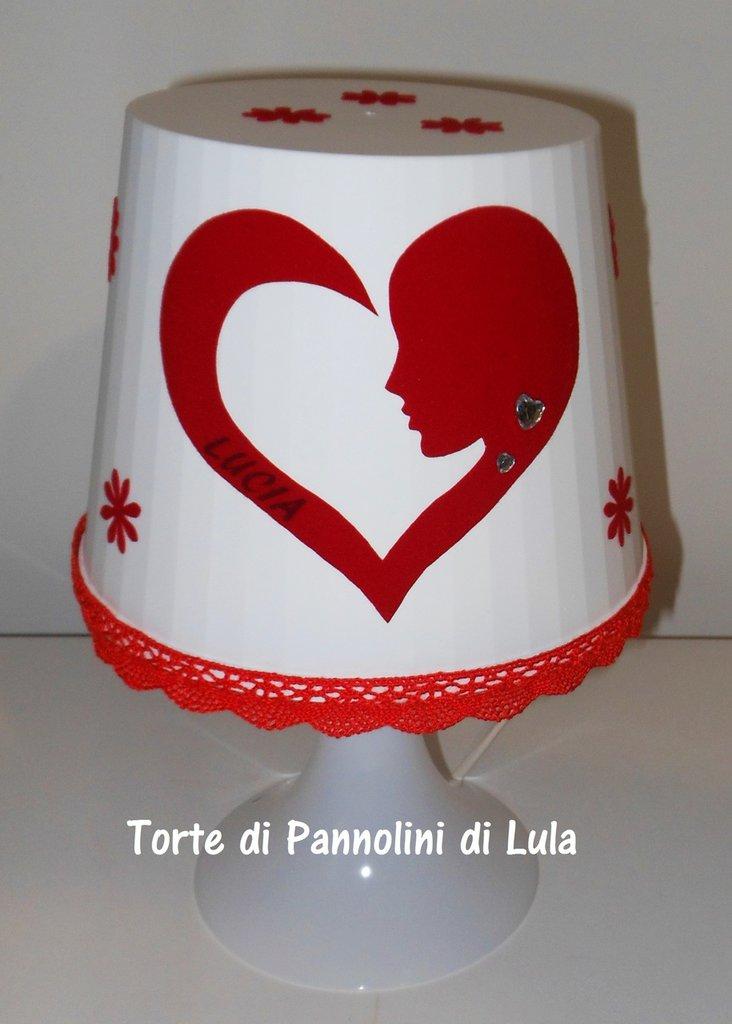 Idea regalo San Valentino -LAMPADA NOME PERSONALIZZABILE con Nome! donna fidanzata mamma