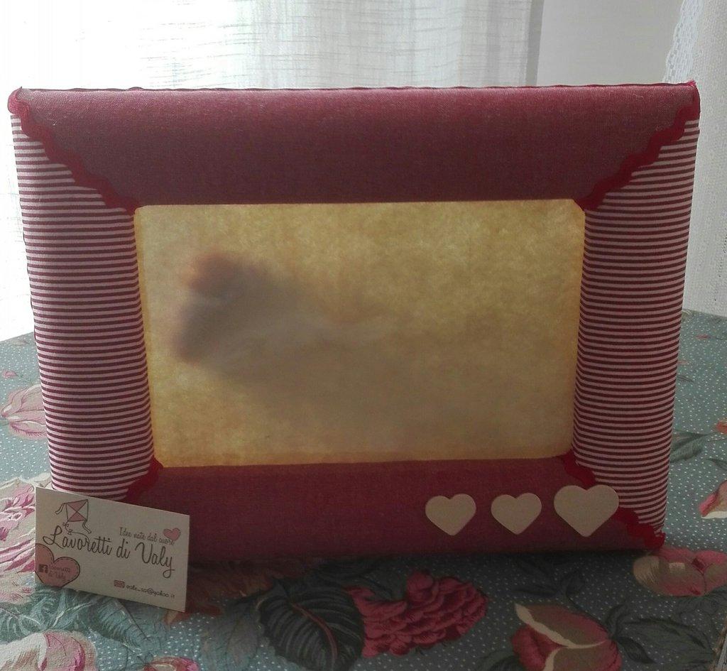 Cornici portafoto handmade per la casa e per te for Cornici portafoto