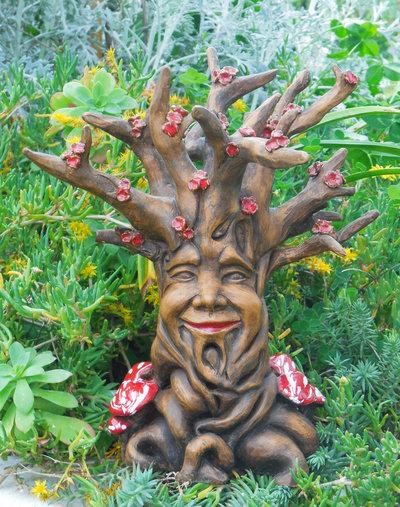 Tree of Life, albero scultura in ceramica