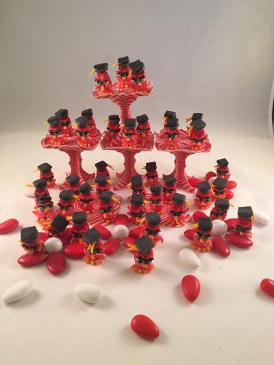 Bomboniera laurea confetti decorati