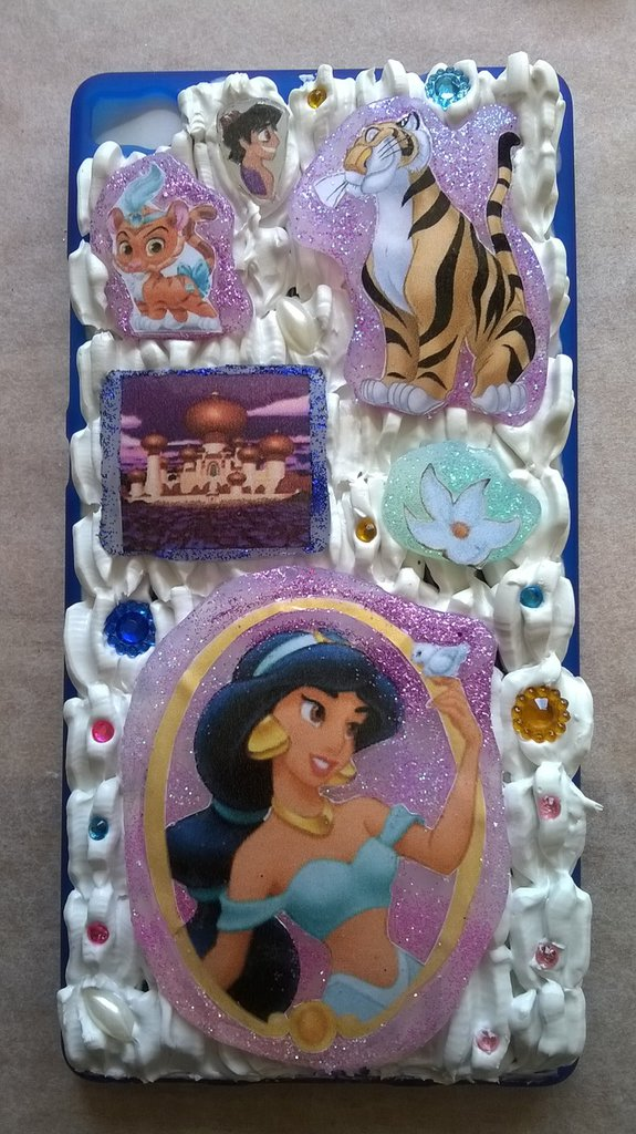 Cover in silicone tema Jasmine