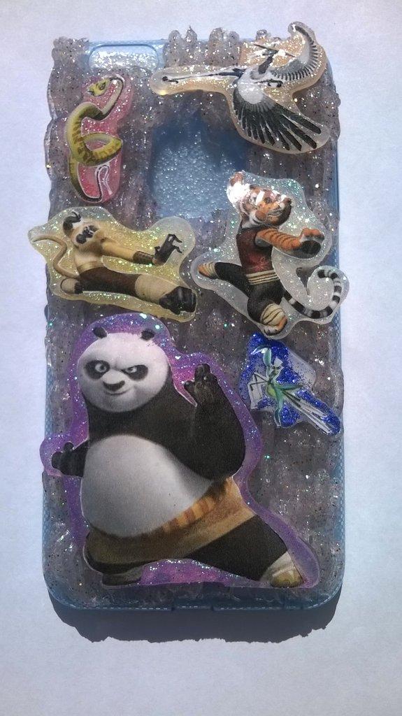 Cover in silicone tema Kung Fu Panda