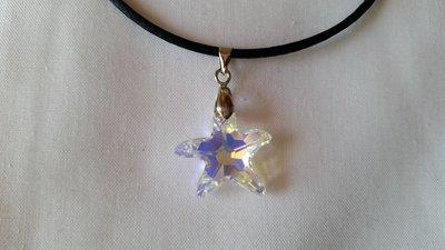 Ciondolo in cristallo SW a forma di stella marina crystal ab