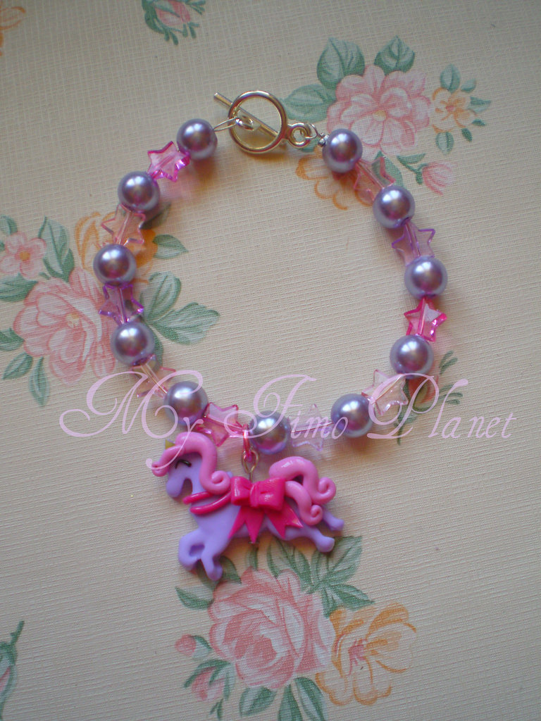 Bracciale Sweet Unicorn Lilac