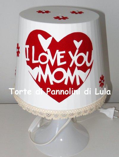 Idea regalo dedicato alla mamma! -LAMPADA PERSONALIZZABILE! donna