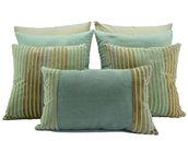 Set verde muschio per letto