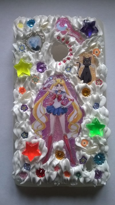 Cover in silicone tema Sailor Moon