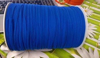 fettuccia in tulle blu elettrico