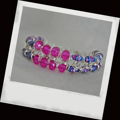 bracciale shock and blue