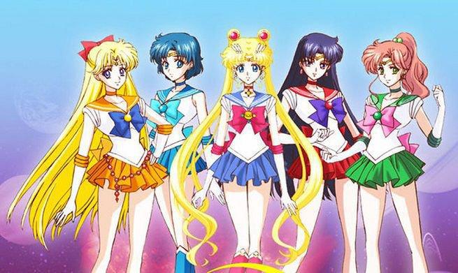 Sailor Moon immagine di riferimento per la realizzazione del costume