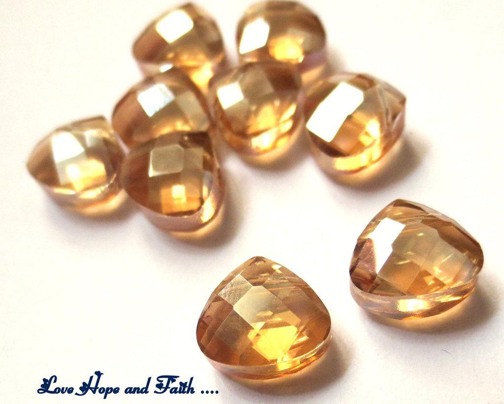 LOTTO 10 perle in vetro  (10mm) (cod new)