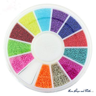 1 confezione di microsfere in metallo multicolore (0,07mm) (cod.10366)
