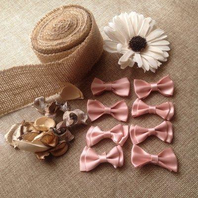 fiocchi in raso rosa