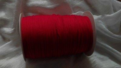 Rocca fettuccia cotone elastico rosso