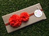 Fascia elastica Pom Pom by Lttle Rose Handmade