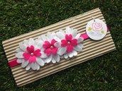 fascia elastica a fiori per capelli