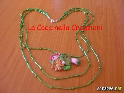 Collana fimo folletta