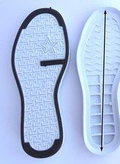 suola modello tim bianco  numero 43