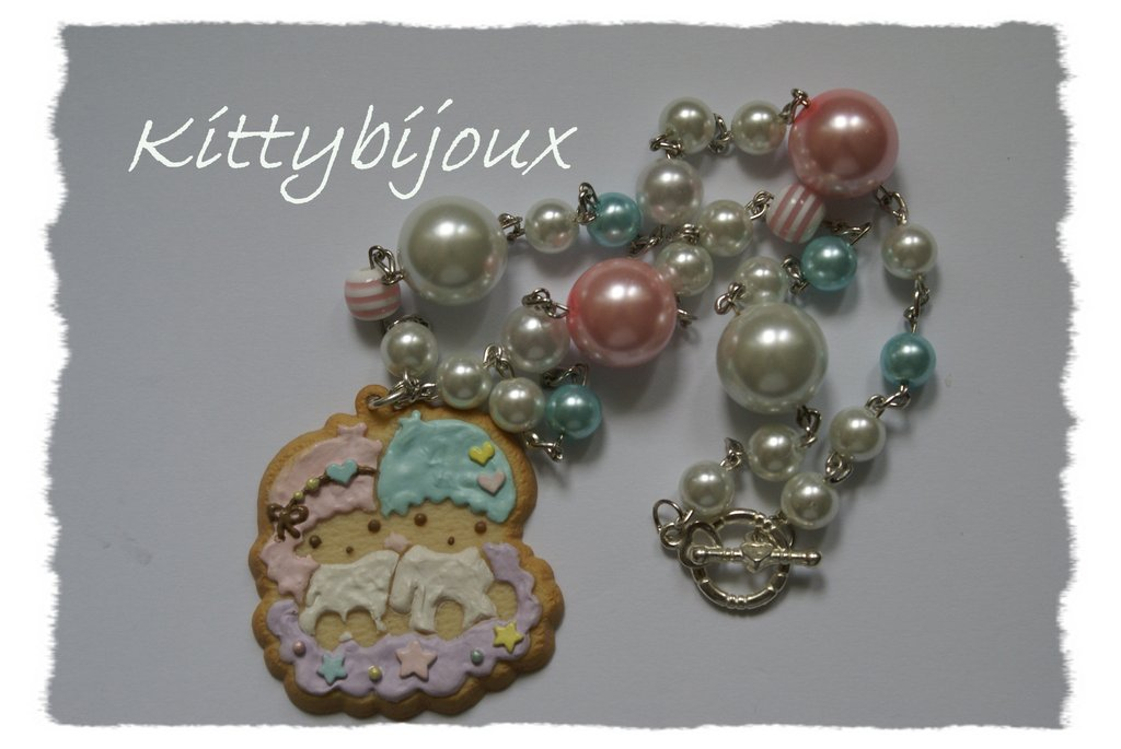 collana little twin stars cookie