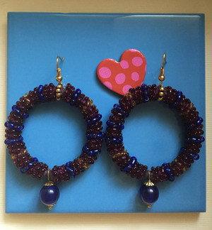 Perla blu marino