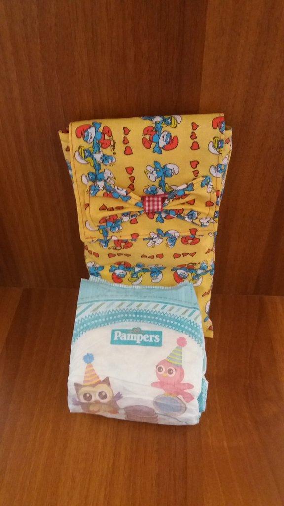 Porta pannolini puffi bambini accessori beb di - Porta pannolini ...