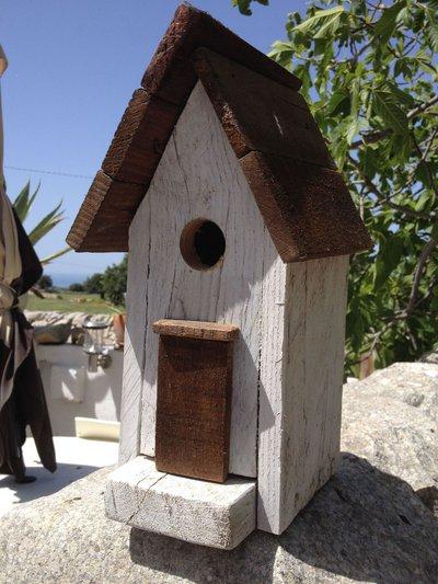 casetta per uccelli in legno - GIACINTO-
