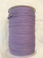 Rocca fettuccia cotone elastico lilla