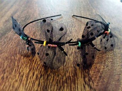 Farfalle nei capelli