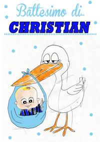 pacchetto battesimo- esempio di caricatura