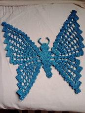 Farfalla ornamentale turchese