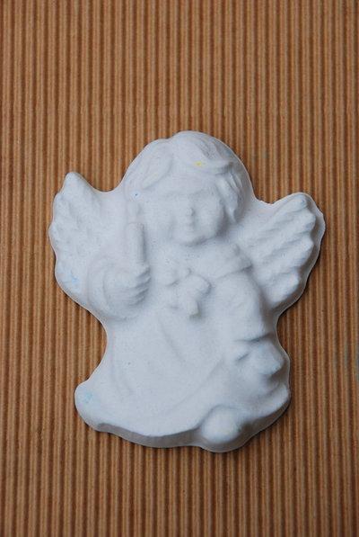 Gessetti profumati bianchi a forma di angelo