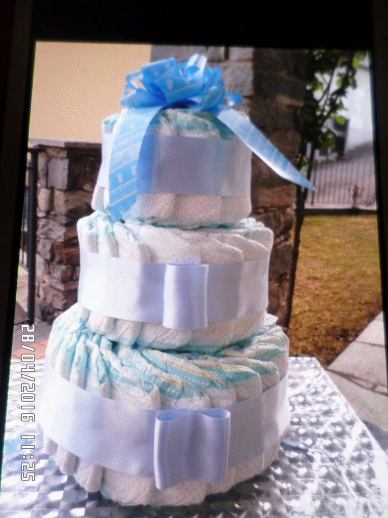 torta di pannolini semplice