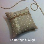 Kit di materiali per fare cuscinetti profumatori con tasca porta-essenze