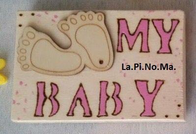 Magnete per battesimo MY BABY!