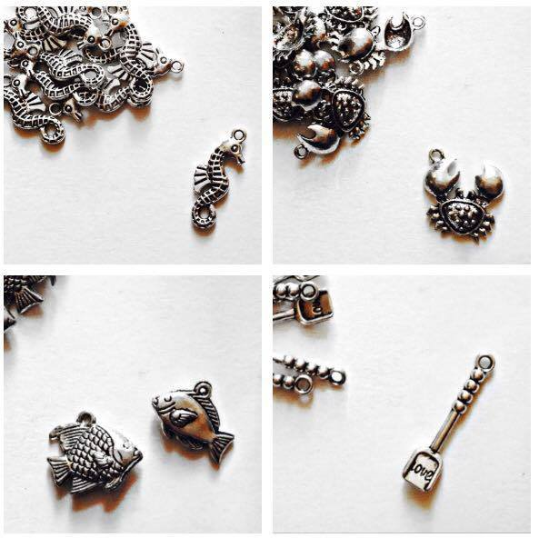 16 CHARMS MISTI (COME IN FOTO)